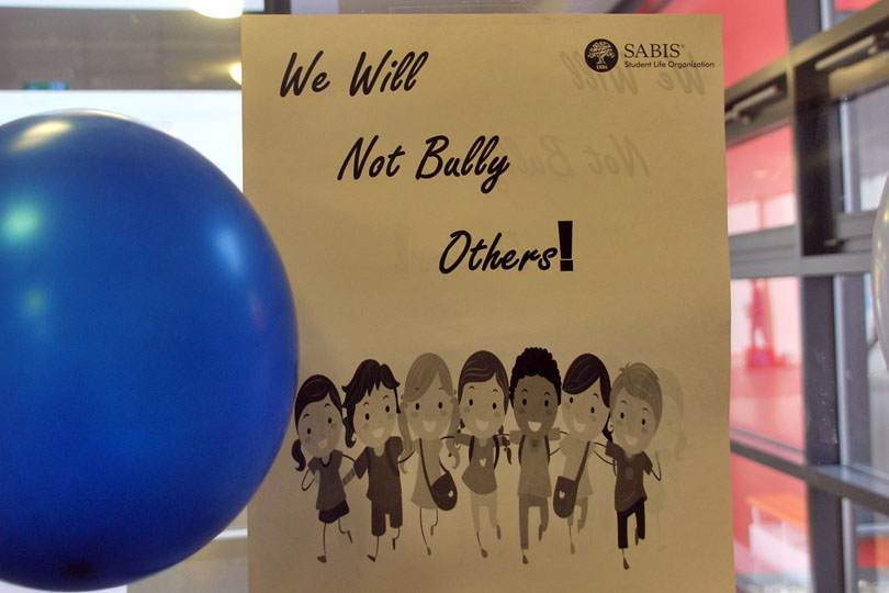 we will not bully others